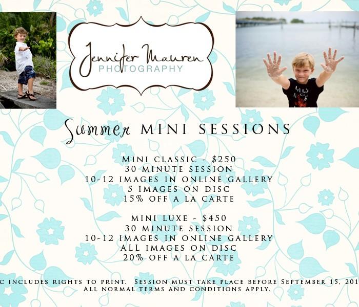 summer mini sessions    bradenton, fl photographer