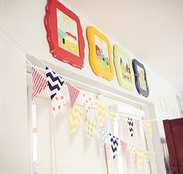 one space a month:  january - the boys room