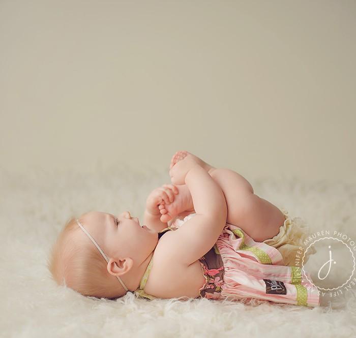 delaney at 8 months