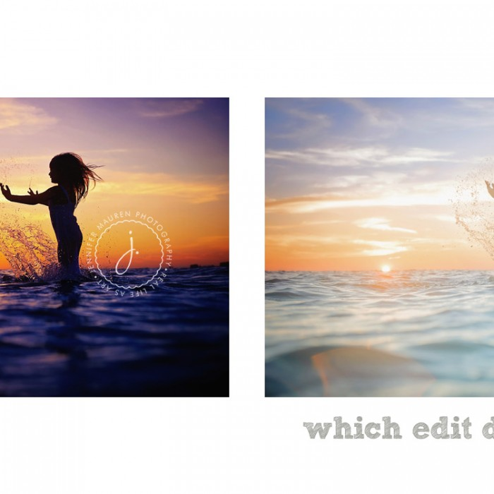 Which do you prefer?  |  sarasota bradenton beach photographer