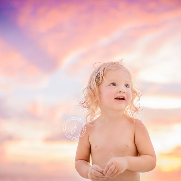 Laney turns 2... on the beach   Longboat Key Sarasota Bradenton beach photographer
