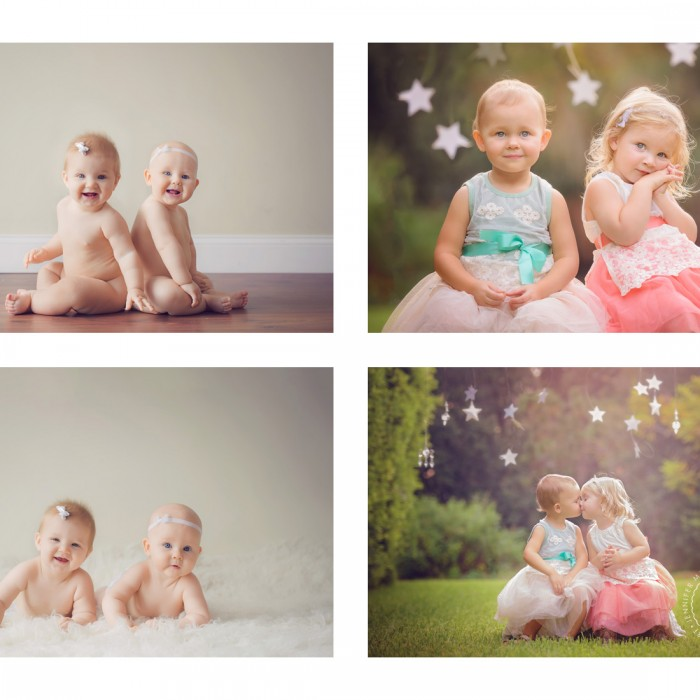 then and now | bradenton sarasota tampa st. pete children's photographer