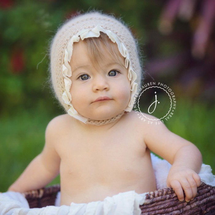 beautiful beach baby is 6 months | longboat key sarasota baby photography