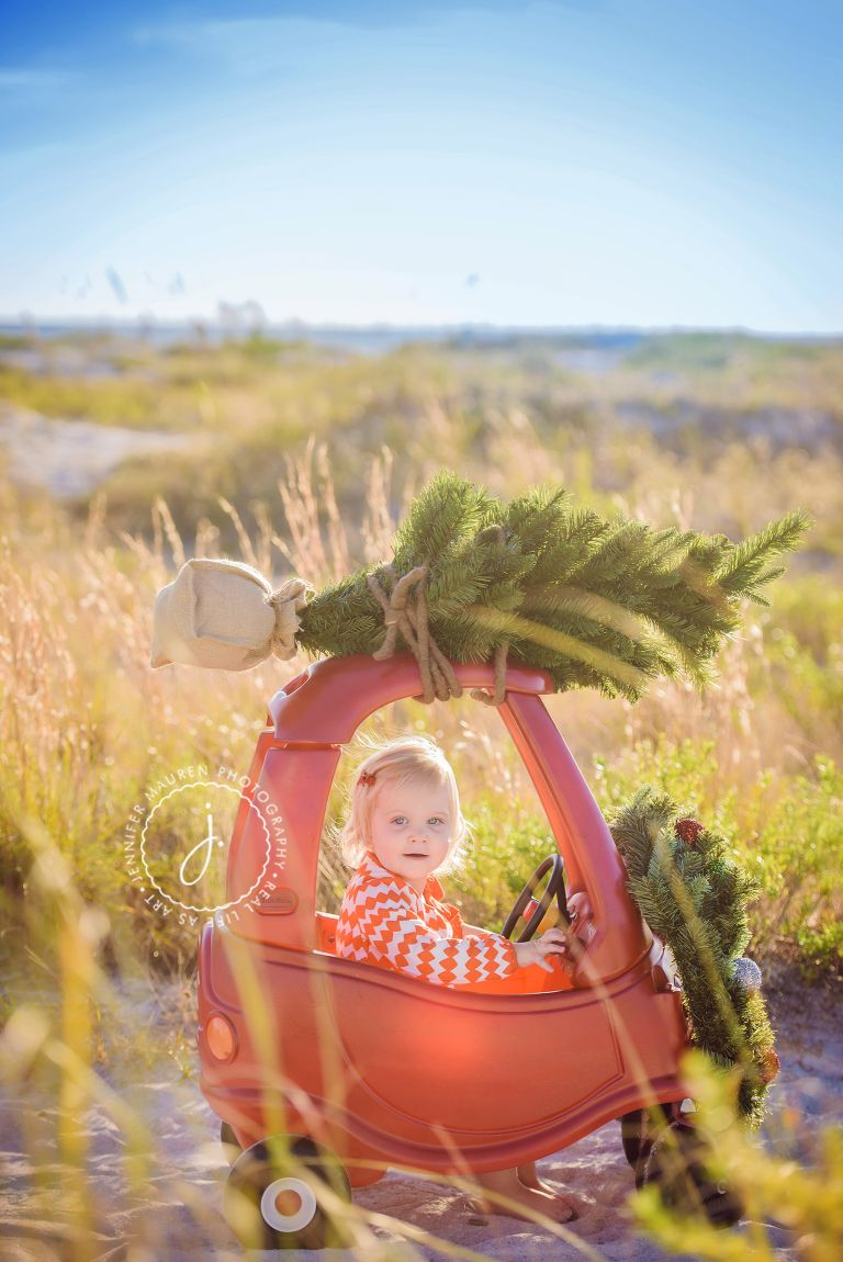 Lido Sarasota beach baby family photography