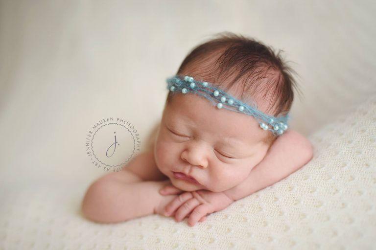 newborn baby chin wrists