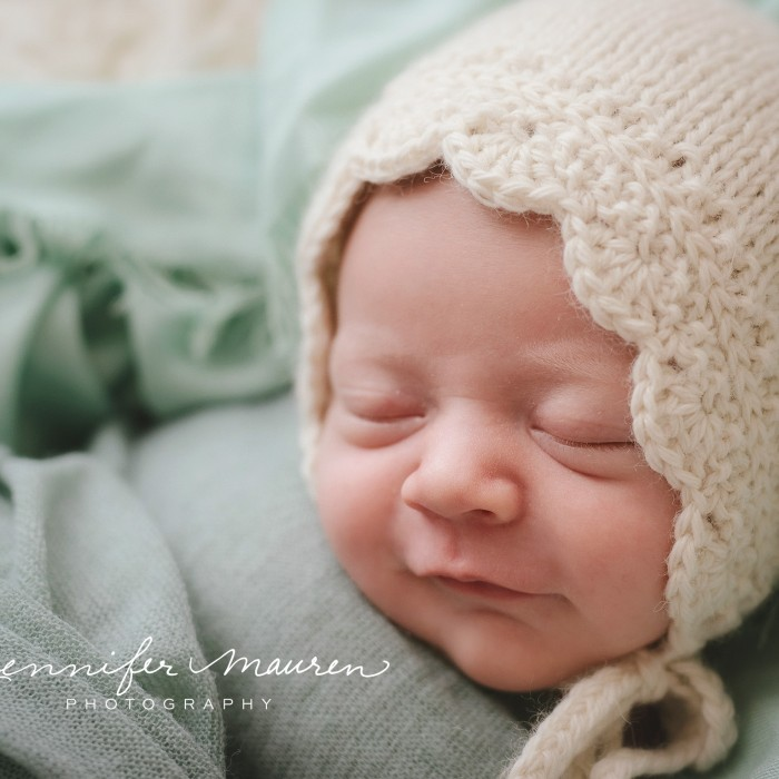 happy and relaxing | sarasota bradenton newborn baby photographer
