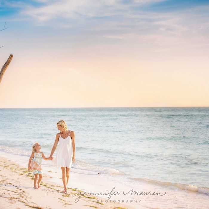 just my mommy and me |  bradenton sarasota beach photographer
