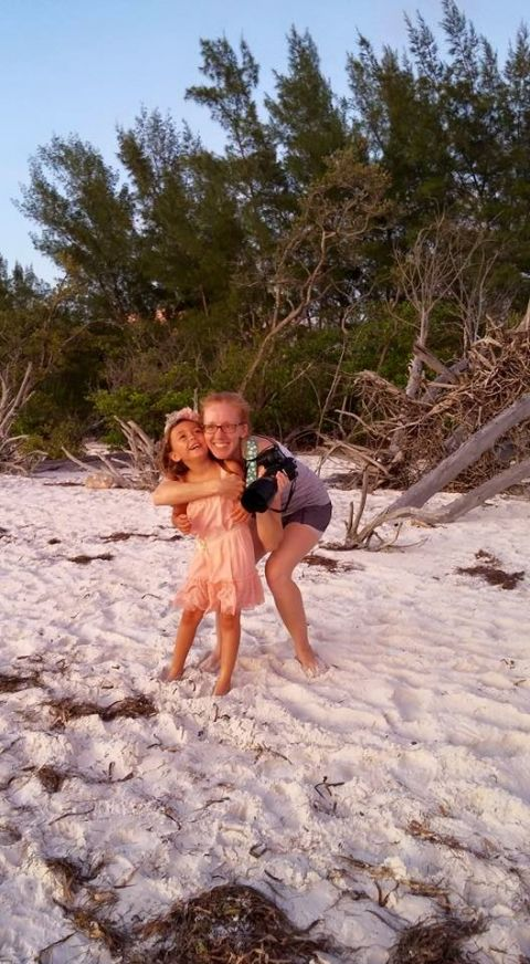 behind the scenes beach photography