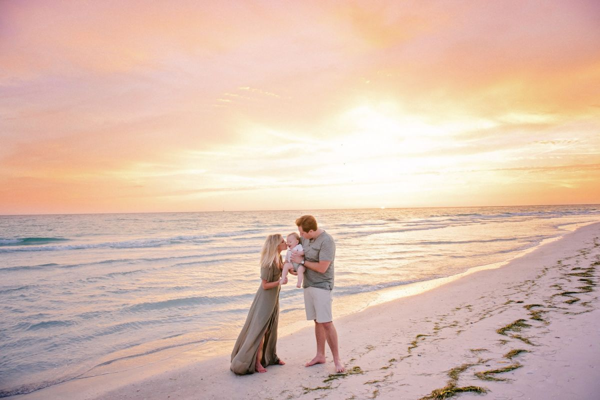 sarasota child family beach photographer
